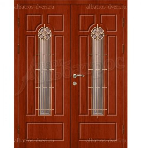 Двухстворчатая металлическая дверь 05-19