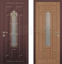Входная металлическая дверь 05-21