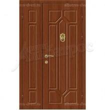 Элитная дверь с молотком в коттедж, модель 16-002