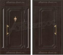 Металлическая дверь в коттедж, модель 11-004
