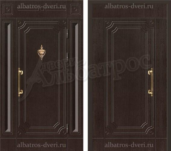 Уличная металлическая дверь, модель 12-004