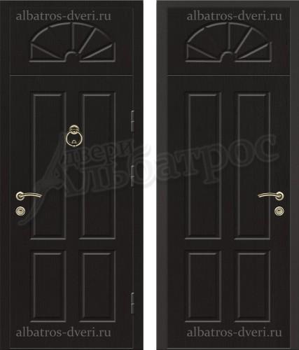 Уличная металлическая дверь, модель 12-005