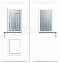 Металлическая дверь в коттедж, модель 11-007