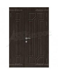 Двухстворчатая металлическая дверь 05-10