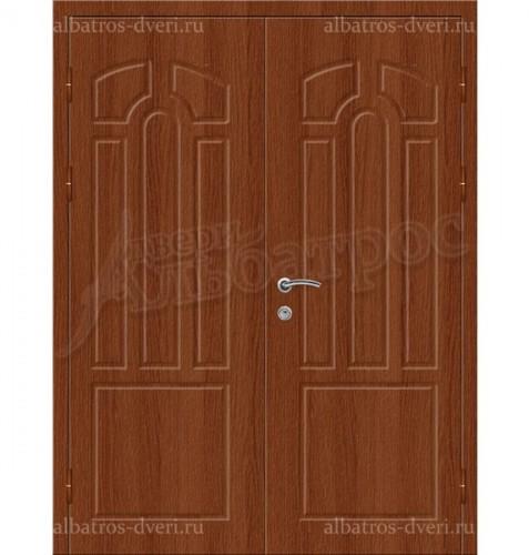 Двухстворчатая металлическая дверь 05-11