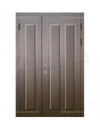 Двухстворчатая металлическая дверь 05-12