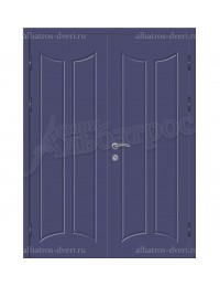 Двухстворчатая металлическая дверь 05-13