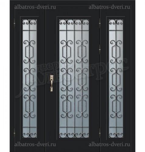 Металлическая дверь в коттедж, модель 11-009