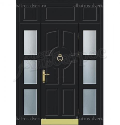Металлическая дверь в коттедж, модель 11-011