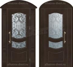 Уличная металлическая дверь, модель 12-003