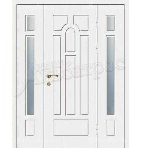 Уличная металлическая дверь, модель 12-008