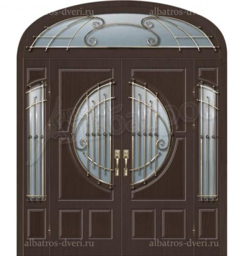 Уличная металлическая дверь, модель 12-010