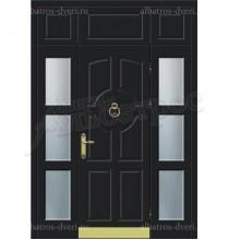 Уличная металлическая дверь, модель 12-011