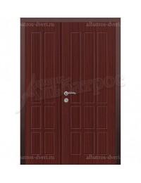 Двухстворчатая металлическая дверь 04-09